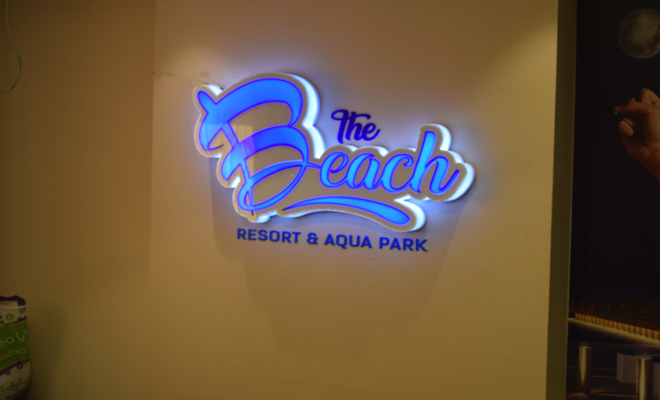 the Beach sales office